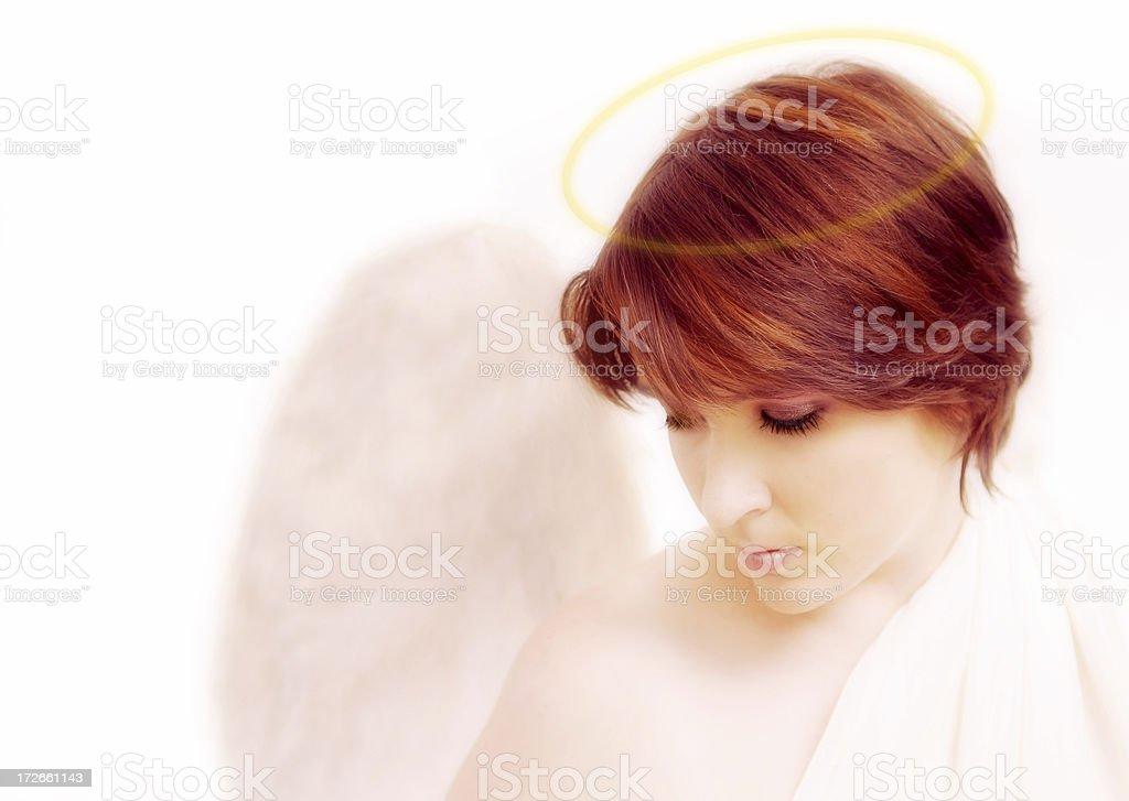 Angelic royalty-free stock photo