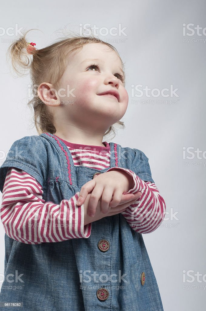 Angelic. royalty-free stock photo