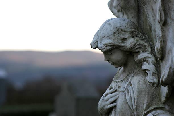 Angelic Profile stock photo