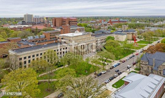 Angell Hall, University of Michigan, Ann Arbor