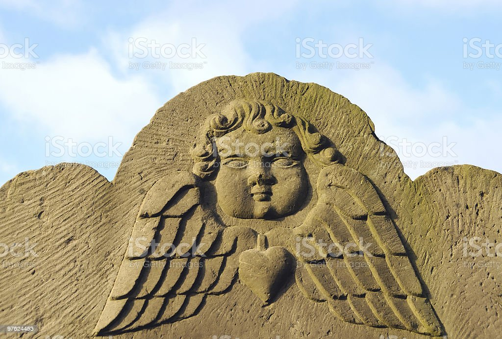 Angels visage photo libre de droits