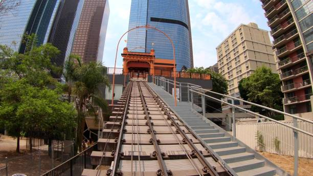 Angels Flight Los Angeles hyper lapse – Foto