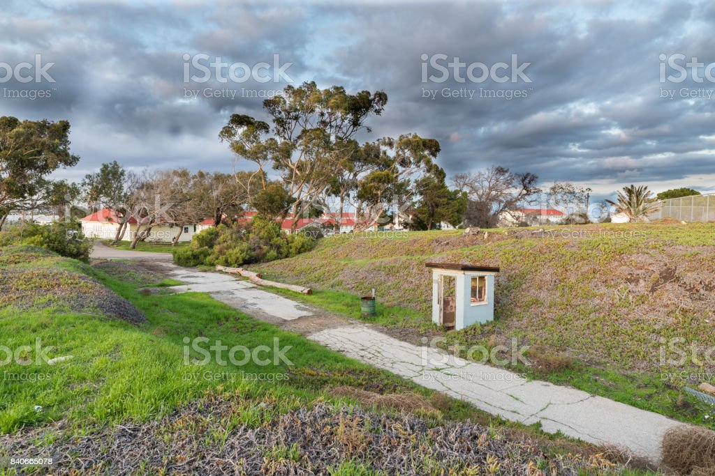 Angels Gate Park stock photo