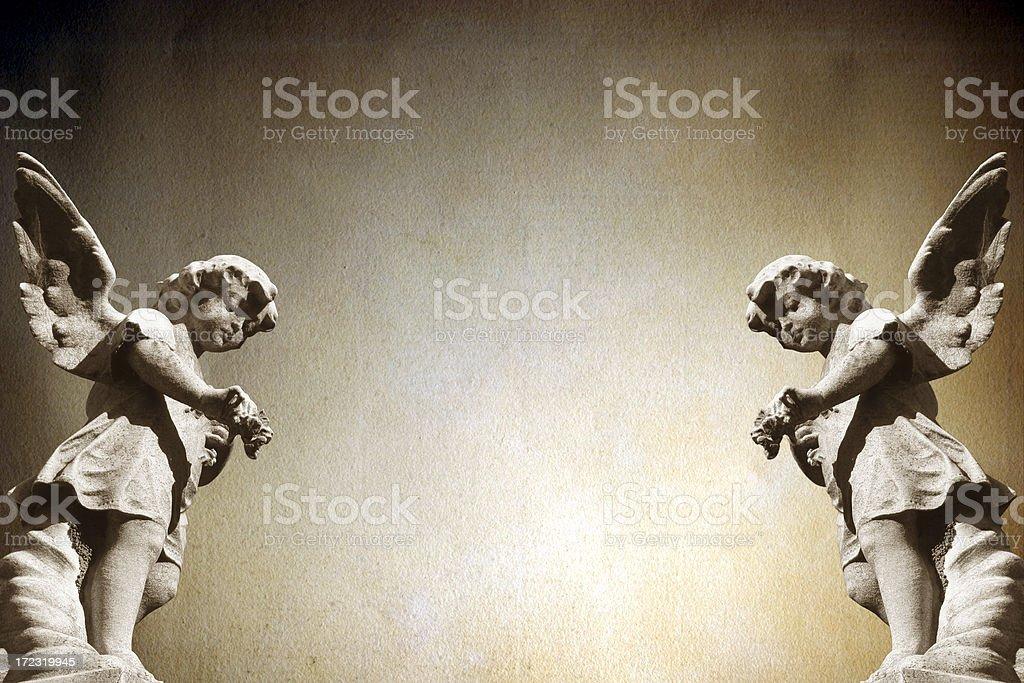 Angels. stock photo