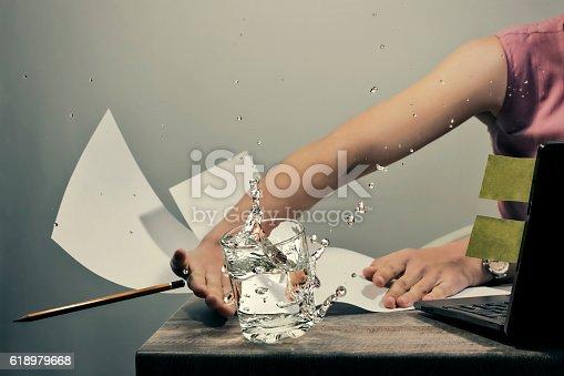187928332 istock photo Anger on the job 618979668