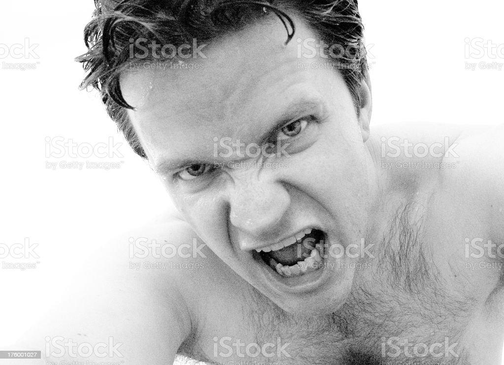 Anger royalty-free stock photo