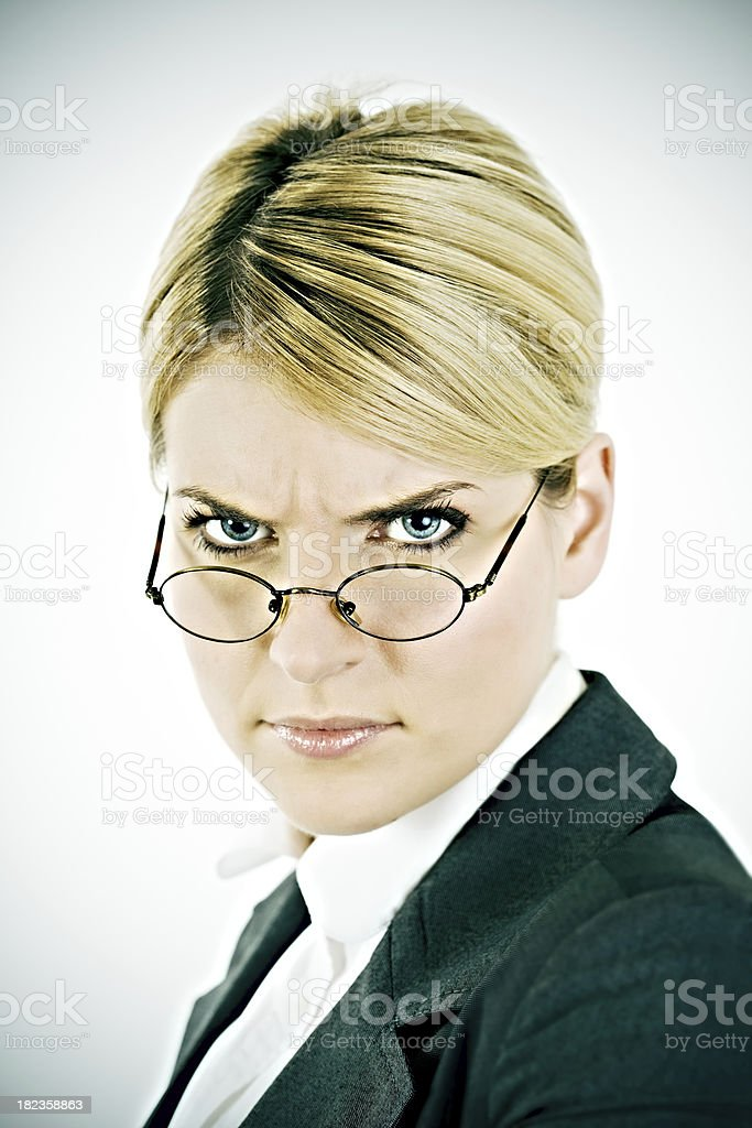 anger woman royalty-free stock photo