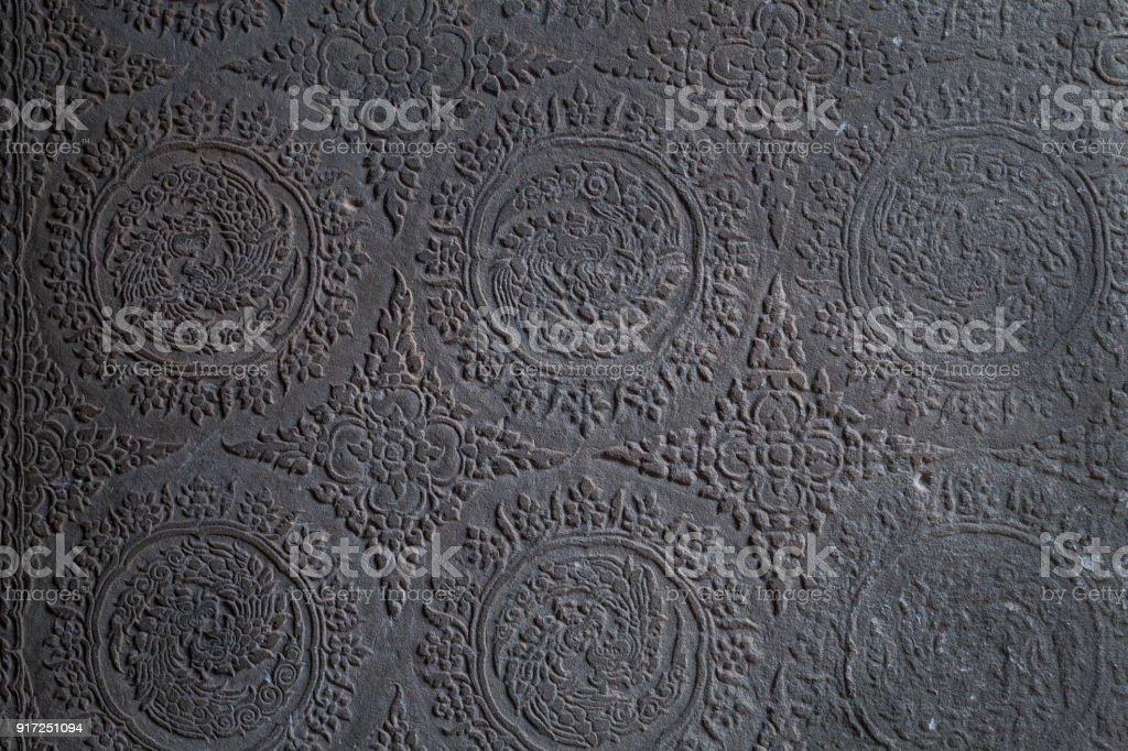 Angkor Emboss murals - foto stock