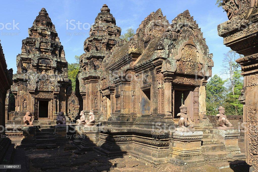 Angkor stock photo
