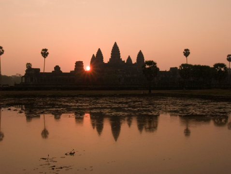 istock Angkor Sunrise 93172178