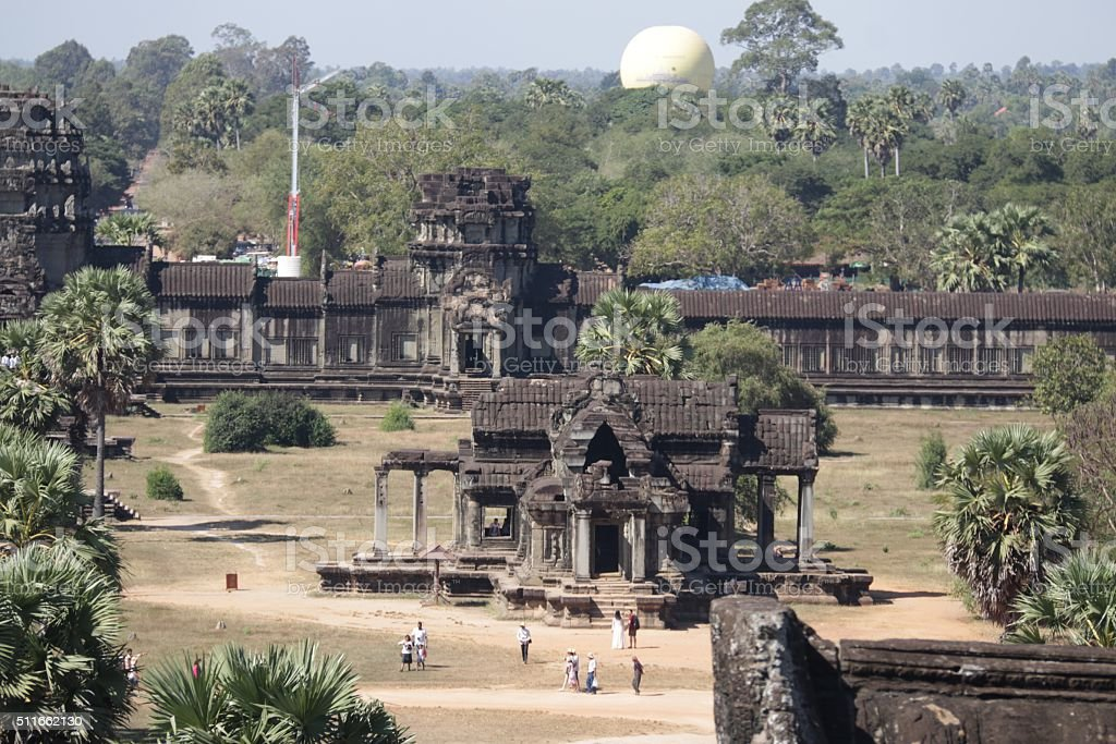 Angkor Temple In Siem Reap, Cambodia stock photo