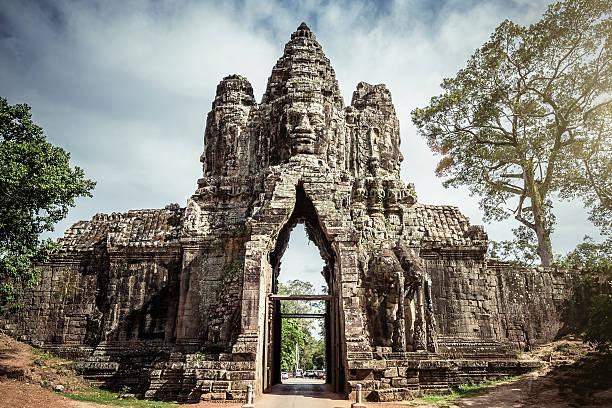 Kambodscha Angkor Thom Gate – Foto