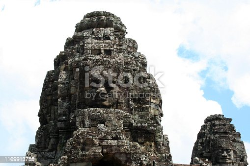 Angkor Thom, located in present-day Cambodia, was the last and most enduring capital city of the Khmer empire.