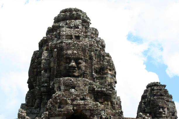 Angkor Thom in Diem Reap stock photo