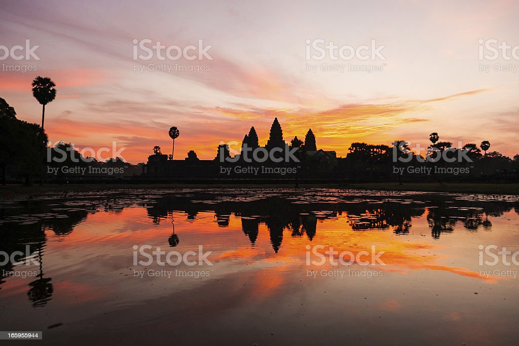 Angkor Wat au lever du soleil, Cambodge - Photo