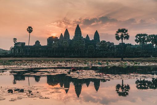 istock Angkor Wat at sunrise 946009116