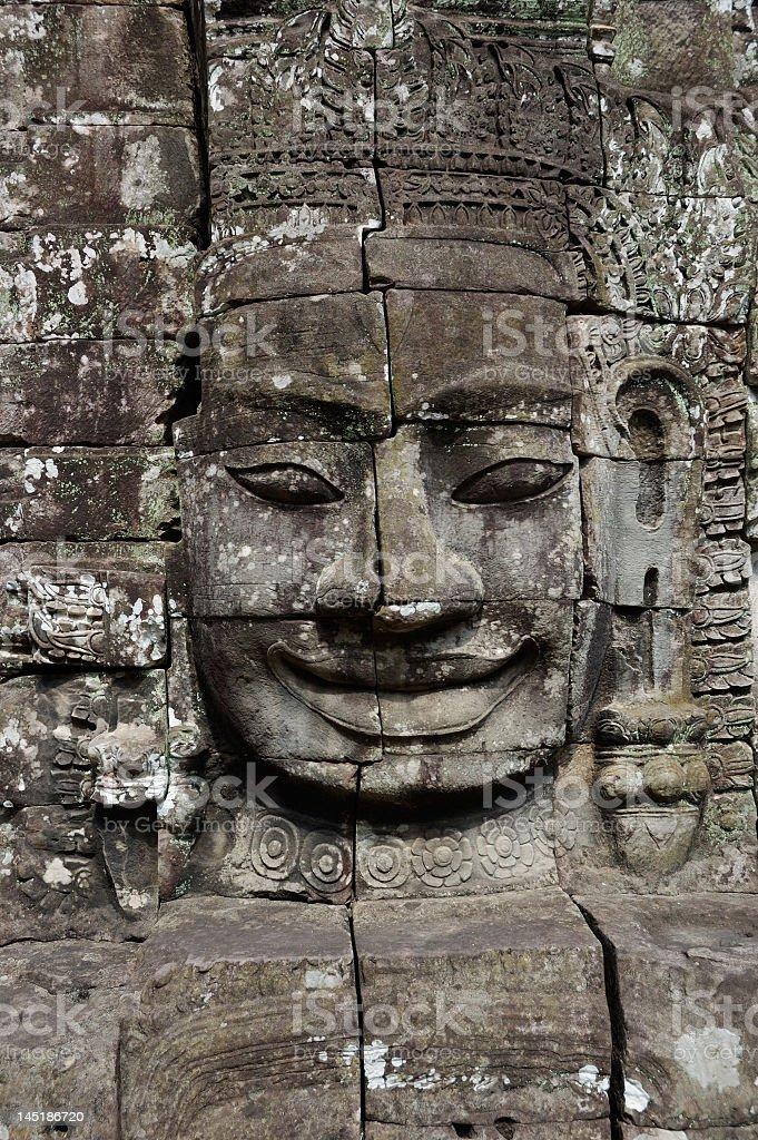 Angkor Wat - Bayon temple royalty-free stock photo