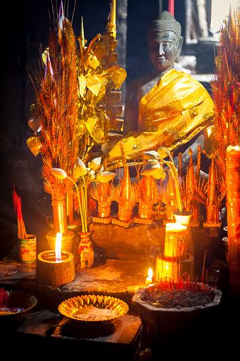 istock Angkor Wat Cambodia, altar 477749936