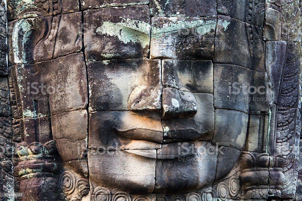 Angkor Wat, Cambodia Bayon Temple. stock photo