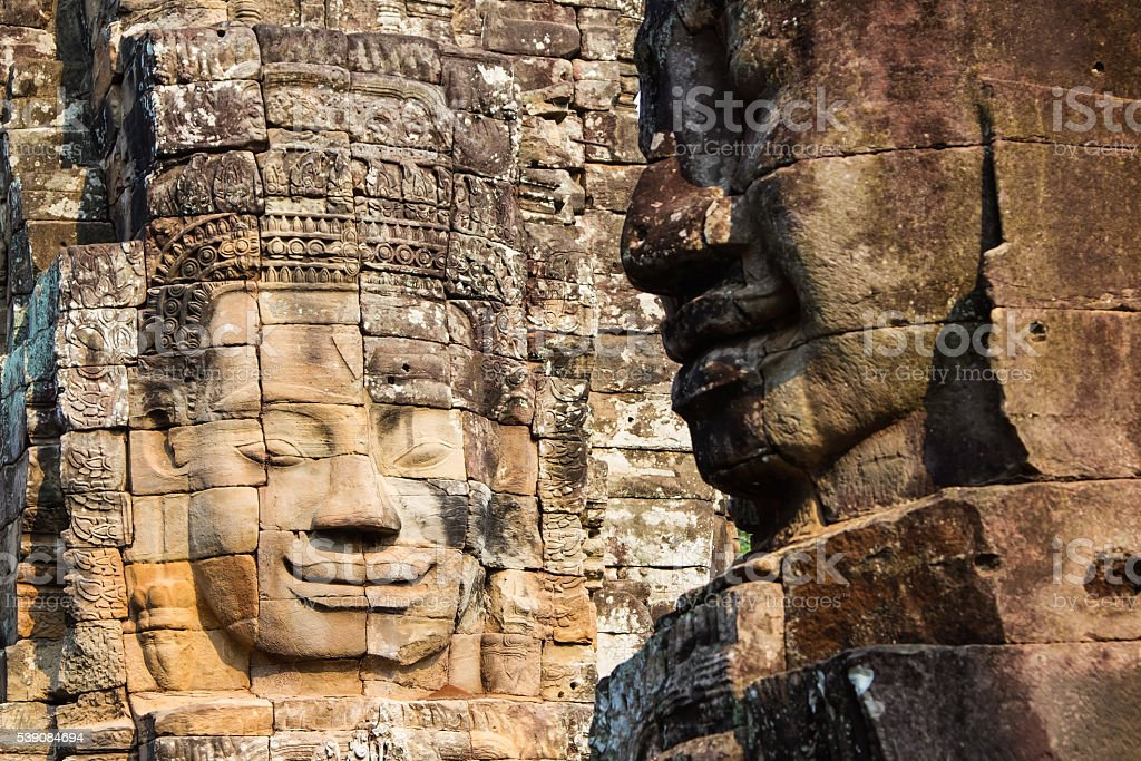 Angkor Wat, Cambodia Bayon Temple. stock photo