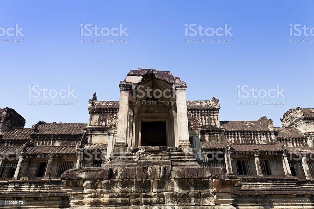 Angkor Wat, Cambodia stock photo