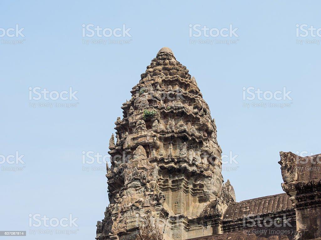 Angkor Wat, Cambodia. stock photo