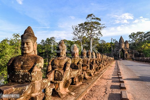 Taken in Angkor Wat in Cambodia.