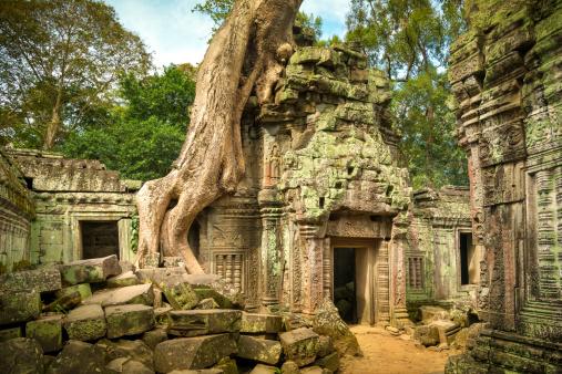 istock Angkor Wat, Cambodian Temple 172411949