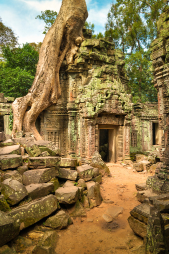 istock Angkor Wat, Cambodian Temple 172421819
