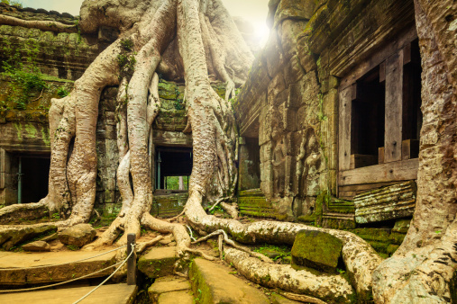 istock Angkor Wat, Cambodian Temple 172459367
