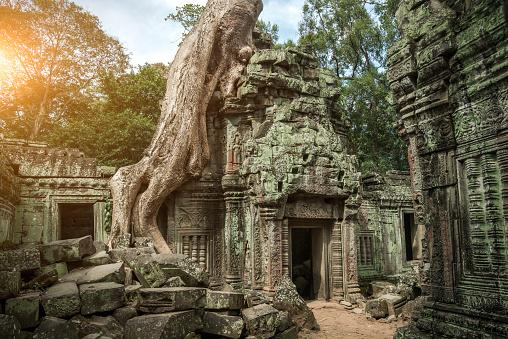 istock Angkor Wat, Cambodian Temple 500094800