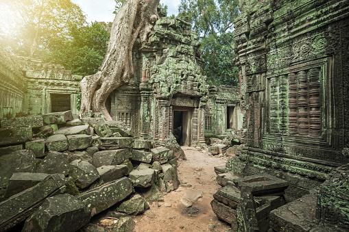 istock Angkor Wat, Cambodian Temple 502189700