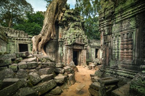 istock Angkor Wat, Cambodian Temple Ruins 467211967