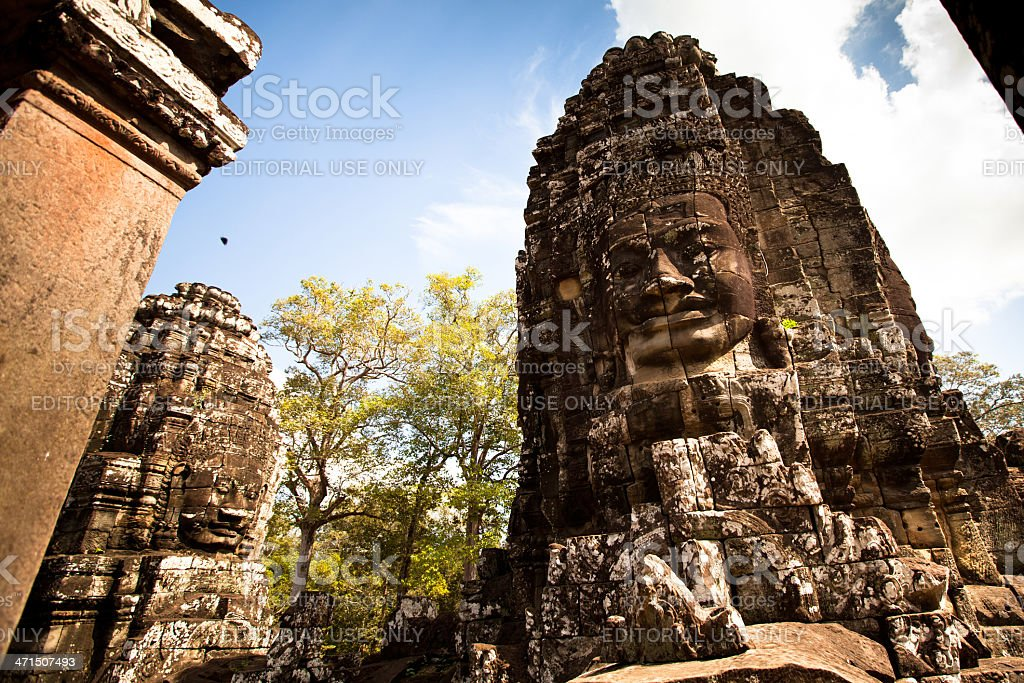 Angkor Wat complex in Siem Reap, Cambodia stock photo