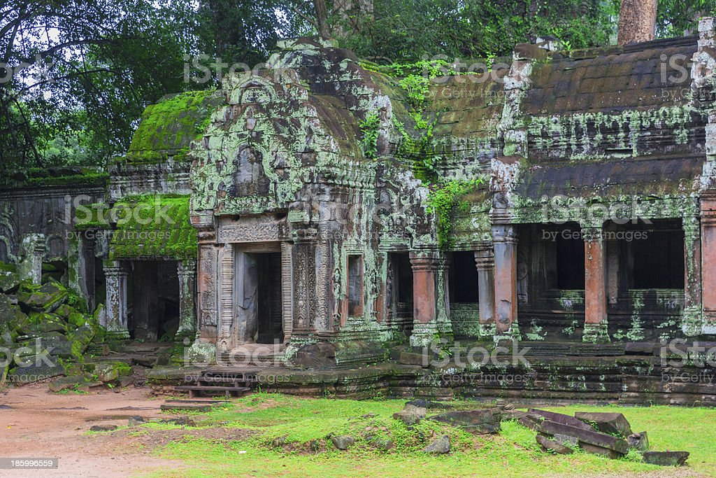 Angkor Wat complex royalty-free stock photo