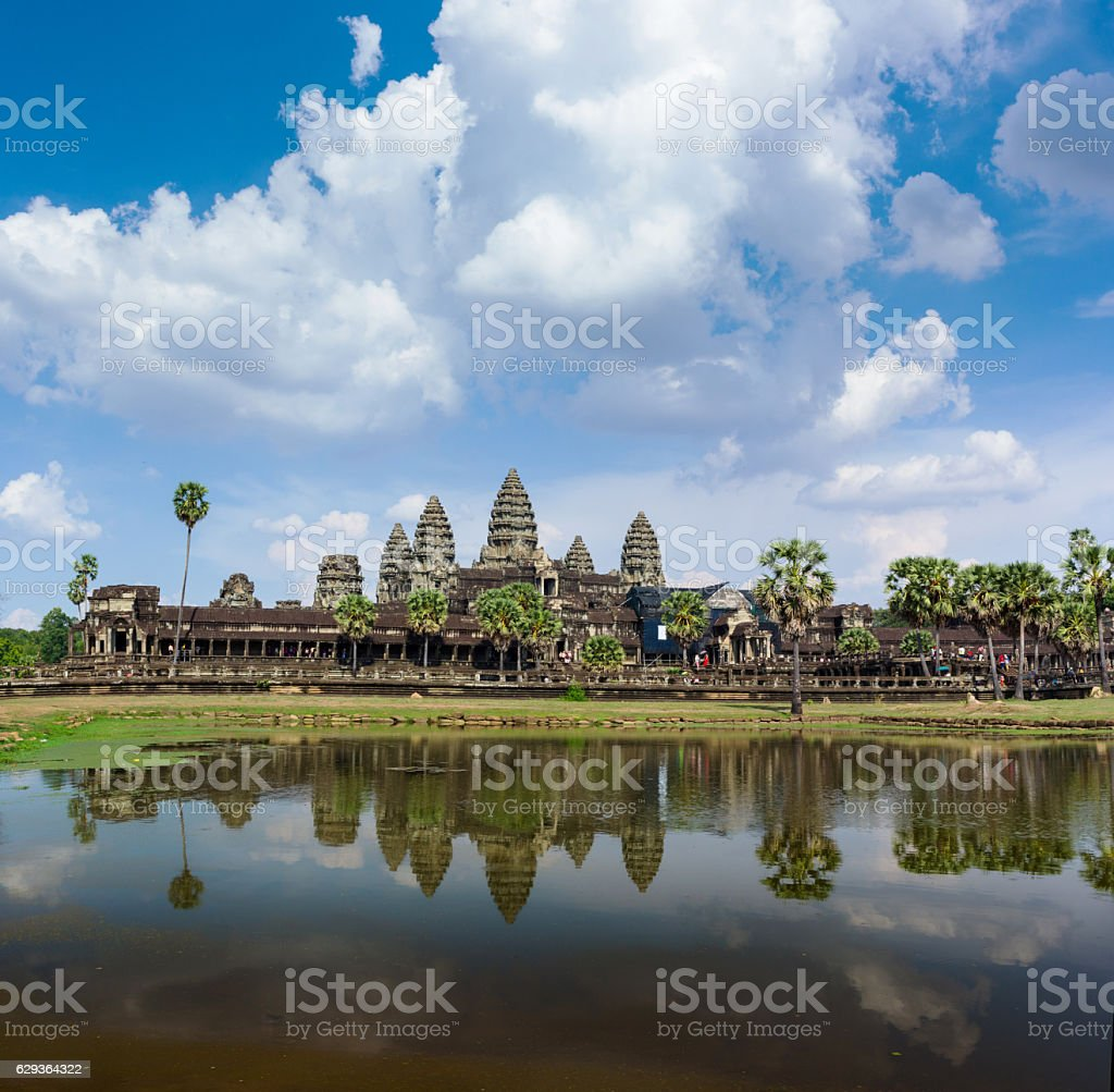 Angkor Wat day time stock photo