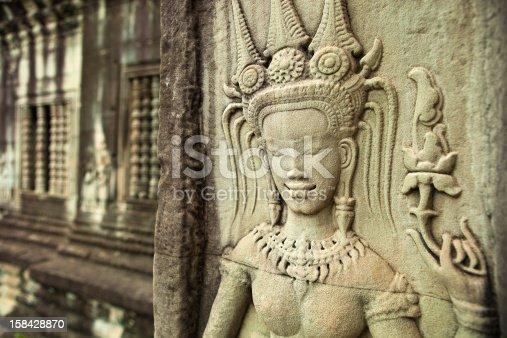 478956028 istock photo Angkor Wat Detail 158428870