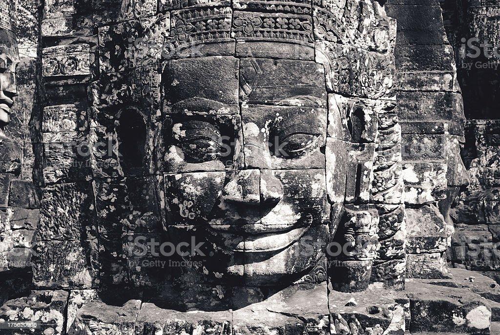 Angkor Wat in Cambodia stock photo