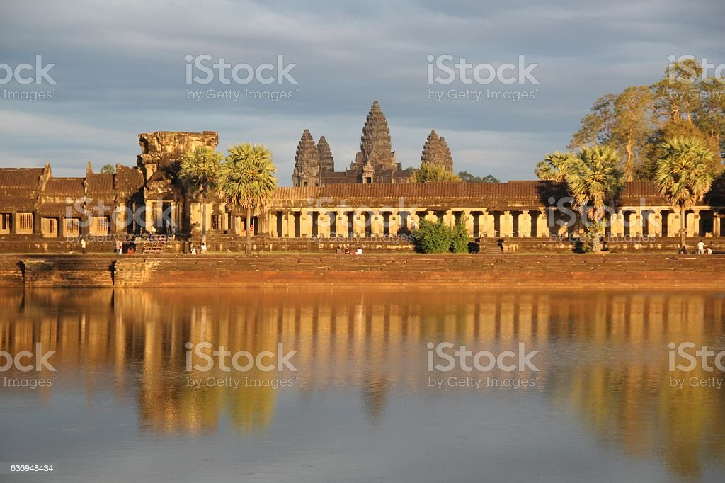 Angkor Wat n.3 stock photo