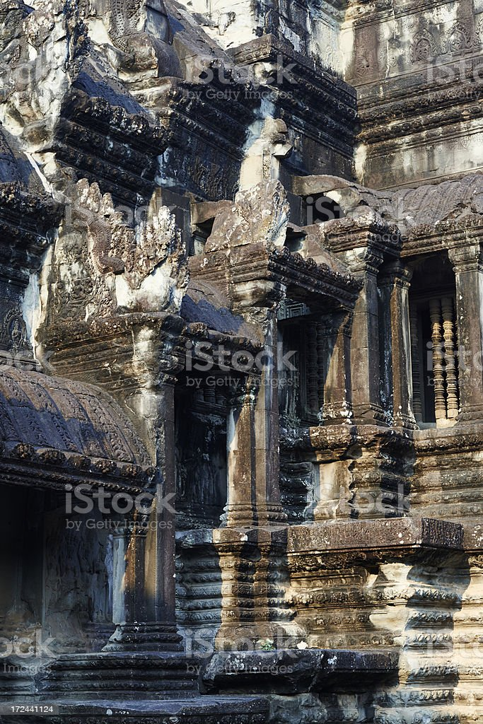Angkor Wat royalty-free stock photo