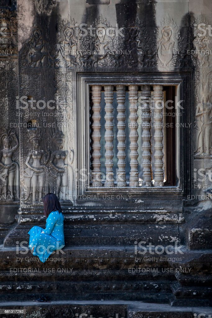 Angkor Wat royalty-free stock photo