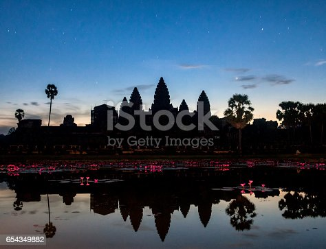 Scenic shot capturing the beauty of Angkor Wat in Cambodia