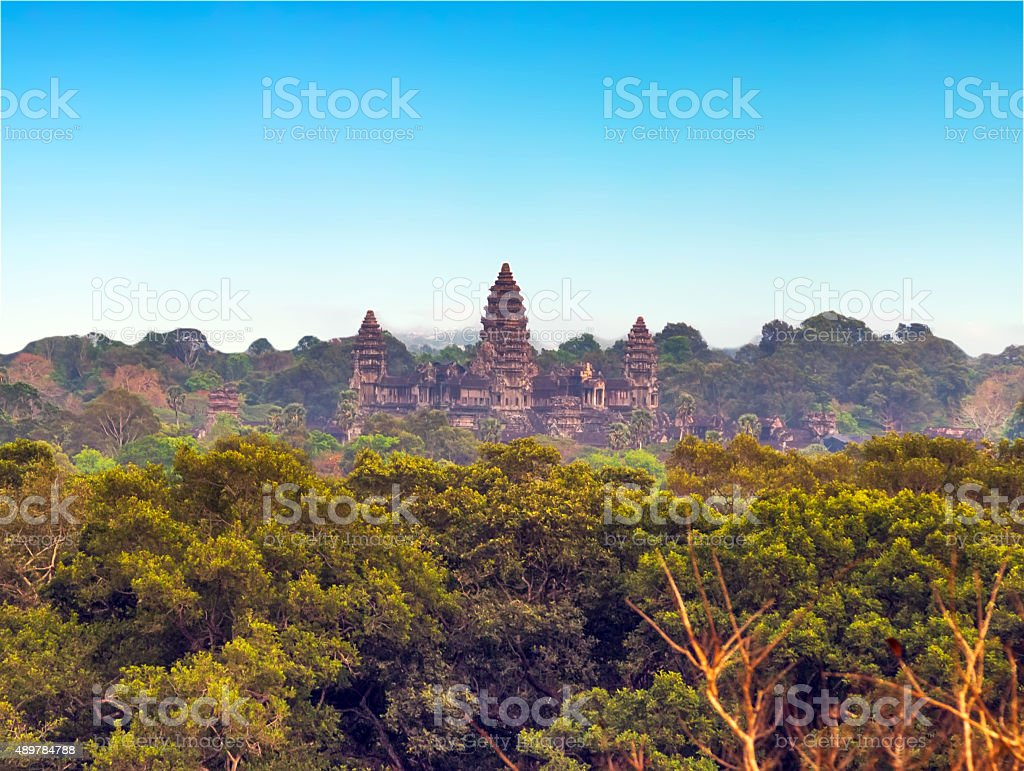 Angkor Wat, Siem Reap, Cambodia. stock photo