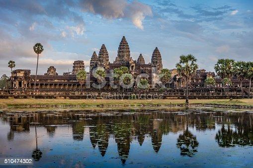istock Angkor Wat Sunrise Cambodia 510474302