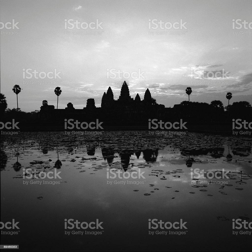 Angkor Wat Sunrise royalty-free stock photo