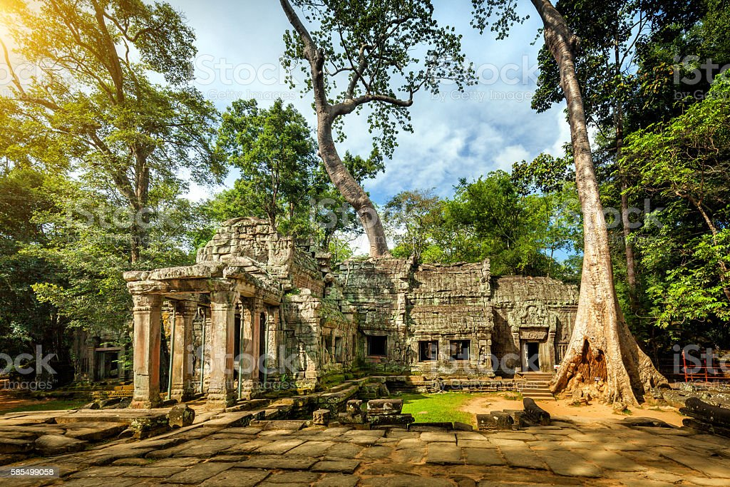 Angkor Wat temple, Angkor, Siem Reap Province, Cambodia stock photo