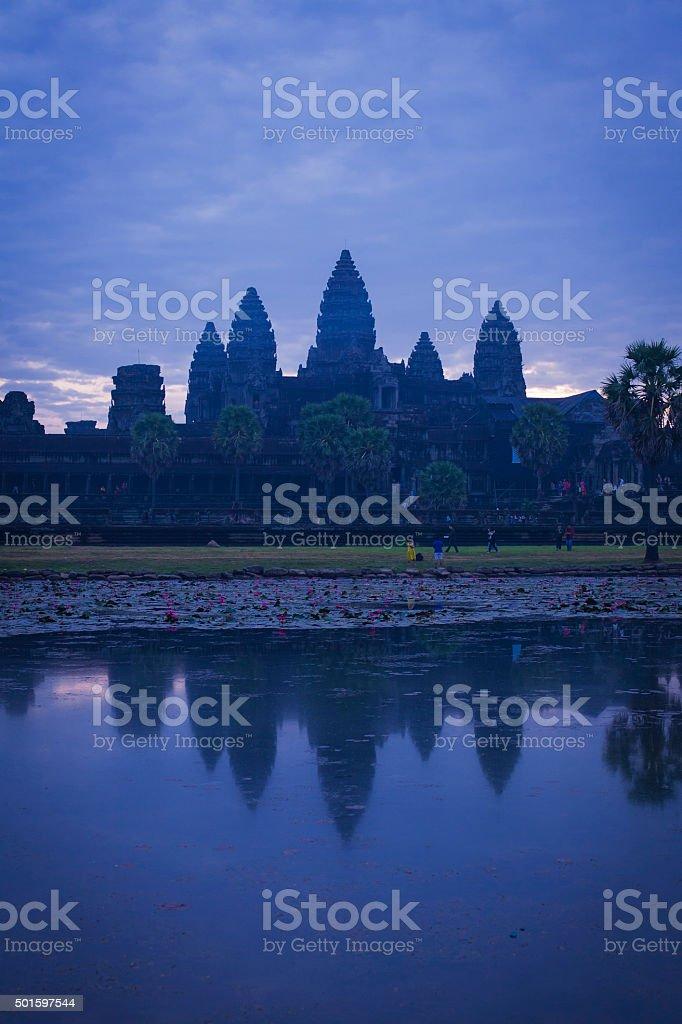 Angkor Wat temple, Cambodia stock photo