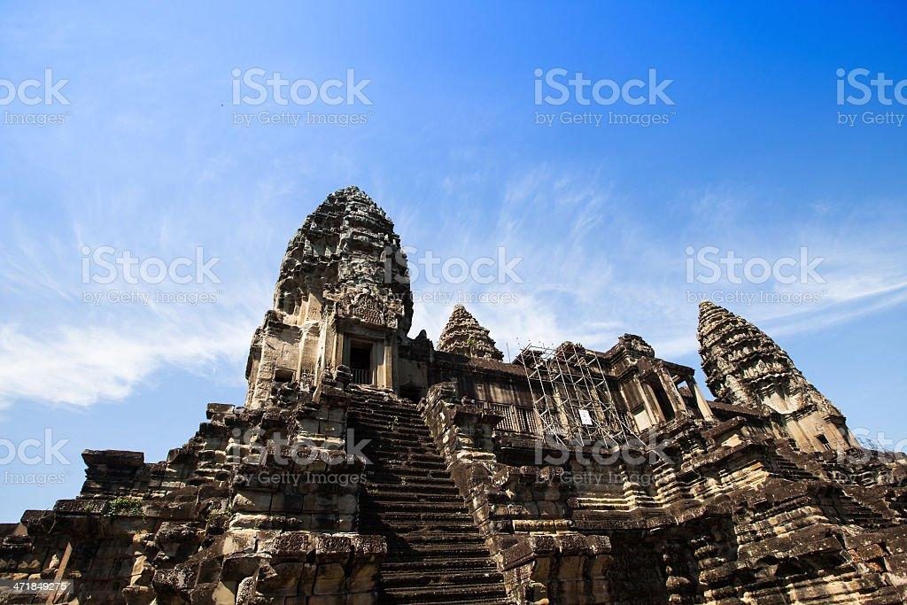 Angkor Wat temple complex, Cambodia stock photo