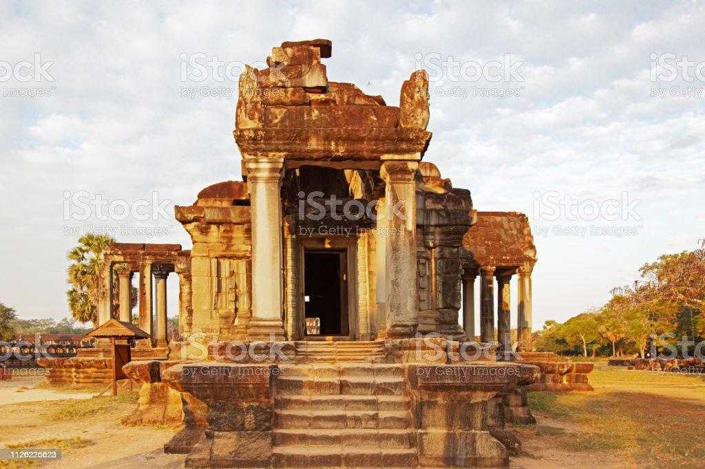 Angkor Wat temple. Siem Reap. Cambodia- stock photo