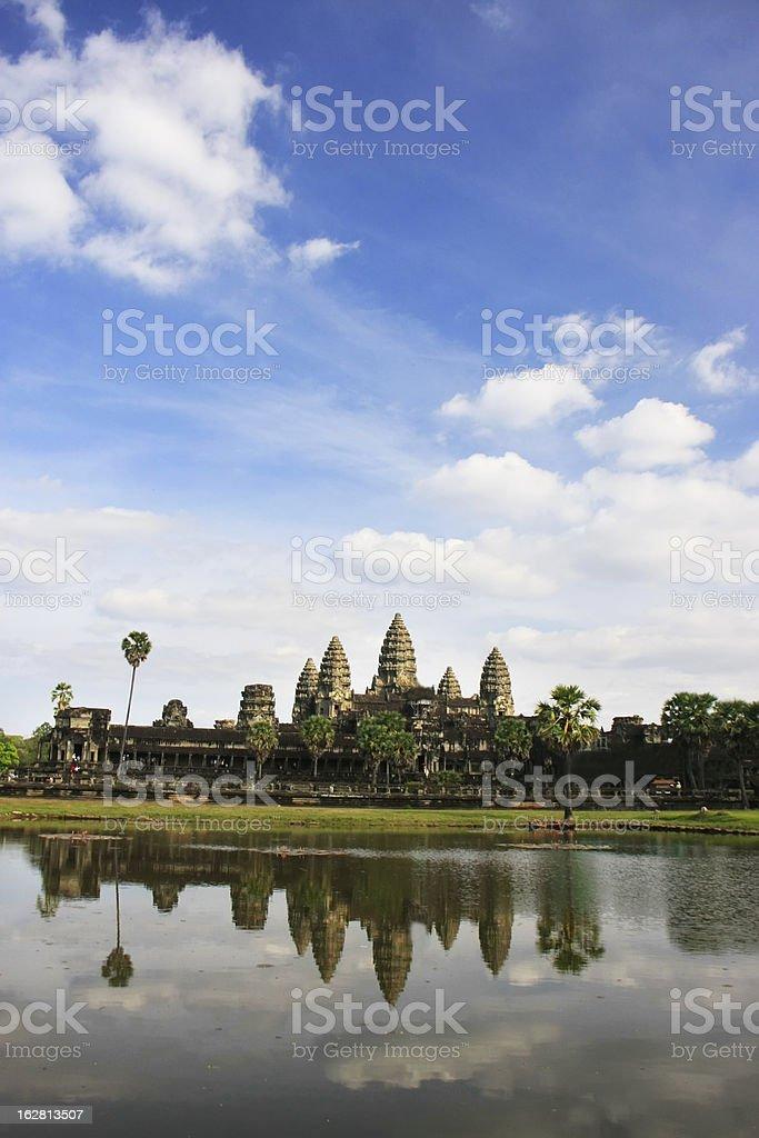 Angkor Wat temple, Siem Reap, Cambodia royalty-free stock photo